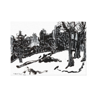 The View from Central Park Canvas Print