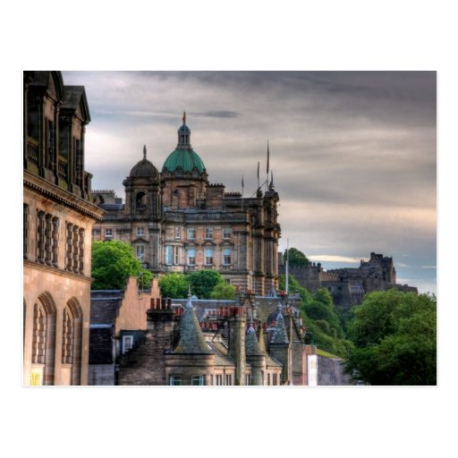 The view from the Scotsman Post Cards