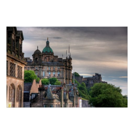 The view from the Scotsman Posters
