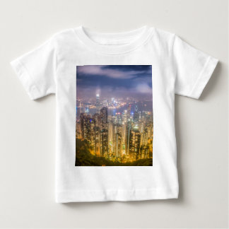 The view of Hong Kong from The Peak Baby T-Shirt