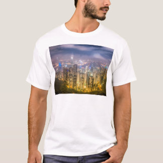 The view of Hong Kong from The Peak T-Shirt