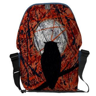 THE VIGIL (owl design) ~ Messenger Bags