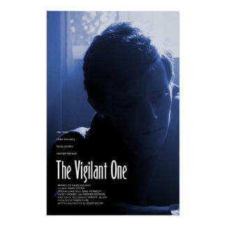 """The Vigilant One"" (Joshua) Poster"