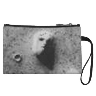 The Viking 1 Orbiter Face on Mars Image (35a72) Wristlet Clutch
