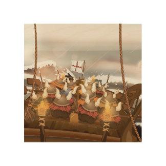 The Vikings Wood Prints
