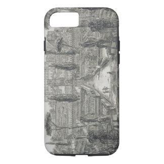 The Villa d'Este at Tivoli (engraving) iPhone 8/7 Case
