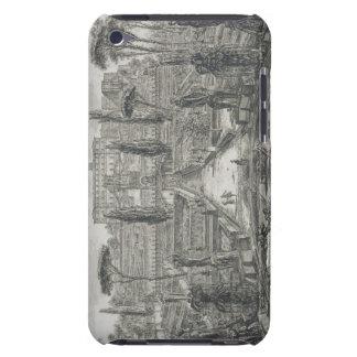 The Villa d'Este at Tivoli (engraving) iPod Case-Mate Cases