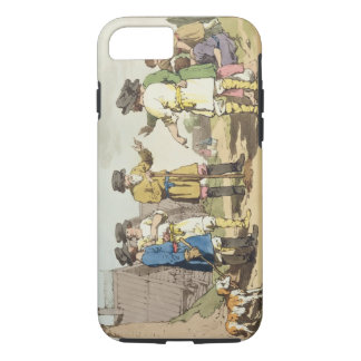 The Village Council, etched by the artist, publish iPhone 8/7 Case