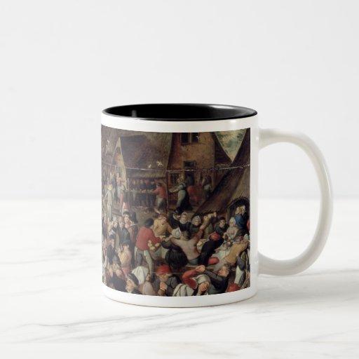 The Village Festival Coffee Mug