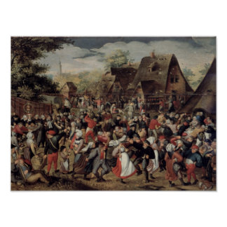 The Village Festival Poster