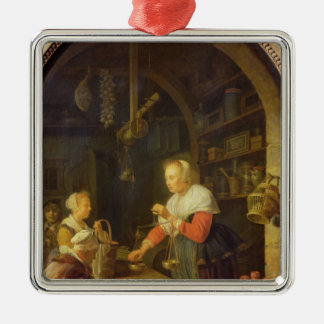 The Village Grocer, 1647 Christmas Ornament