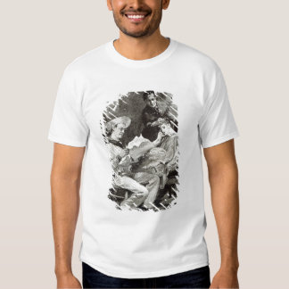 The Village Hero, from 'Leisure Hour', 1891 T-shirt