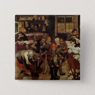 The Village Lawyer, 1621 15 Cm Square Badge
