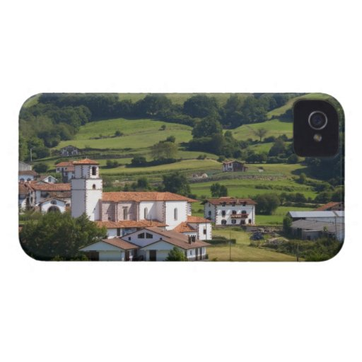 The village of Amaiur in the Baztan Valley of Blackberry Bold Cases