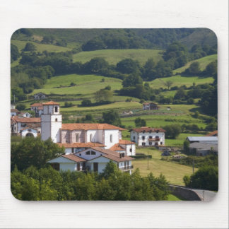 The village of Amaiur in the Baztan Valley of Mouse Pad