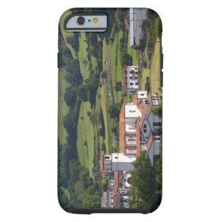 The village of Amaiur in the Baztan Valley of Tough iPhone 6 Case