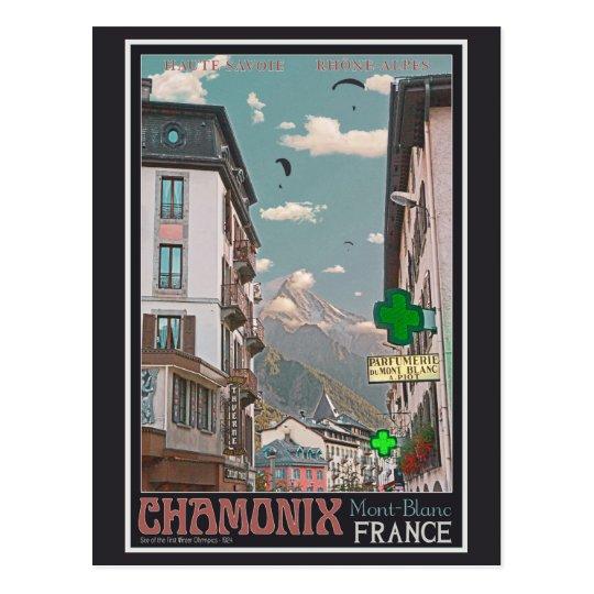 The Village of Chamonix - BonW Postcard