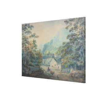 The Village of Rydal, Westmorland Canvas Print