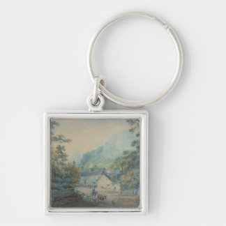 The Village of Rydal, Westmorland Key Ring