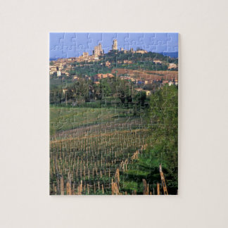 The village of San Gimignano sits in the rolling Puzzles
