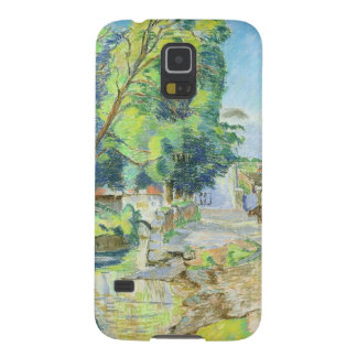 The Village (pastel on paper) Galaxy S5 Covers