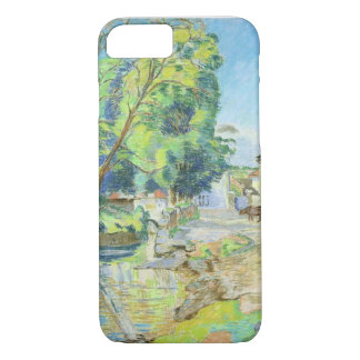 The Village (pastel on paper) iPhone 8/7 Case