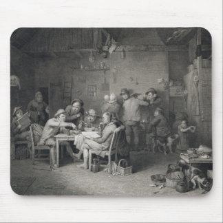 The Village Politicians, engraved by Abraham Raimb Mousepad