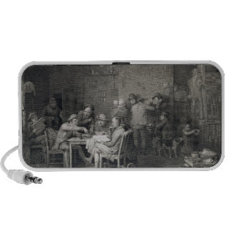 The Village Politicians, engraved by Abraham Raimb Travelling Speakers