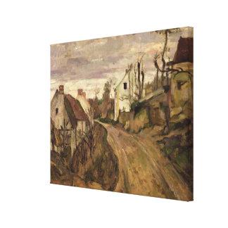The Village Road, Auvers, c.1872-73 Canvas Print