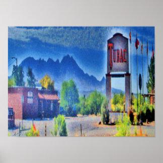 The Village, Tubac, Arizona Canvas Print