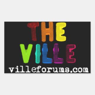 The Ville Sticker