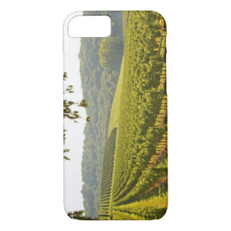 The vineyard and a valley with a forest - iPhone 8/7 case