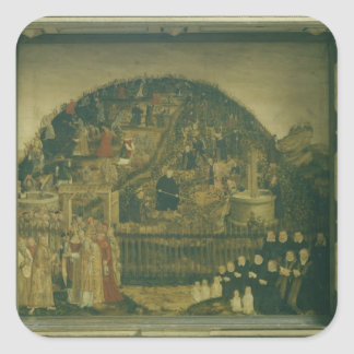 The Vineyard of the Lord, 1569 Square Sticker