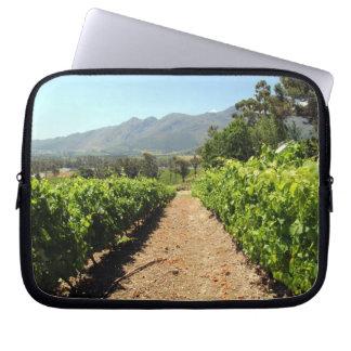 The Vineyards in Franschhoek, South Africa Laptop Sleeves