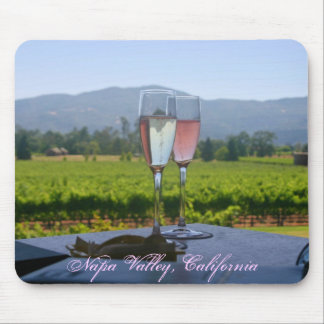 The Vineyards of Napa Valley Mouse Mat