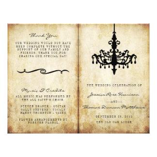 The Vintage Chandelier Wedding Collection 21.5 Cm X 28 Cm Flyer