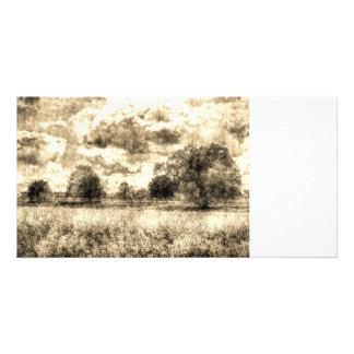 The Vintage Farm Picture Card