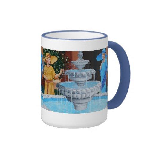 The Vintage Fountain mug