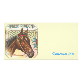*The Vintage Horse* Photo Card Template
