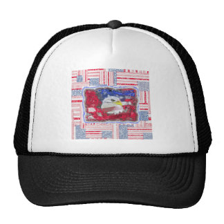 The vintage look trucker hat