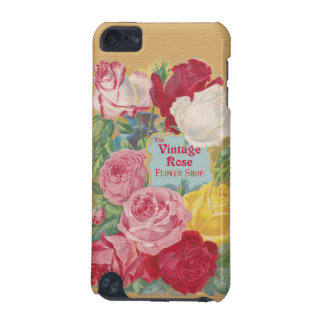 The Vintage Rose Flower Shop Sign iPod Touch (5th Generation) Covers