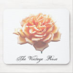 The Vintage Rose Mouse Pad