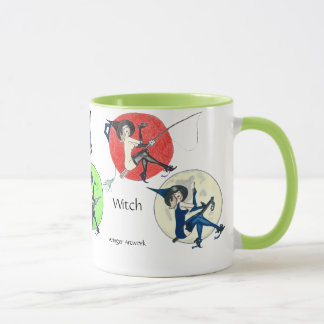 The Vintage Witch Mug