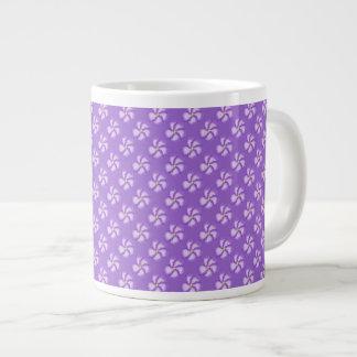 The Violet Jumbo Mug 20 Oz Large Ceramic Coffee Mug