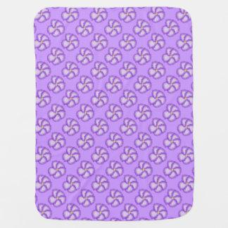 The Violet Tiled Baby Blanket