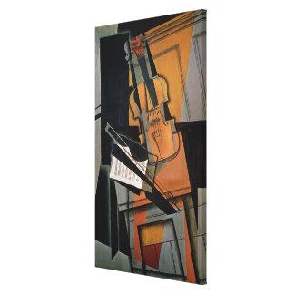 The Violin, 1916 Canvas Print