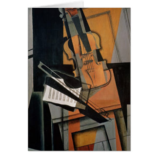 The Violin, 1916 Card