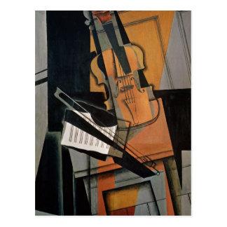 The Violin, 1916 Postcard