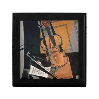 The Violin, 1916 Small Square Gift Box