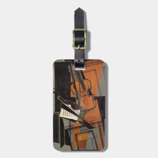 The violin ~ 1916 ~ Synthetic Cubism ~ Juan Gris Luggage Tag